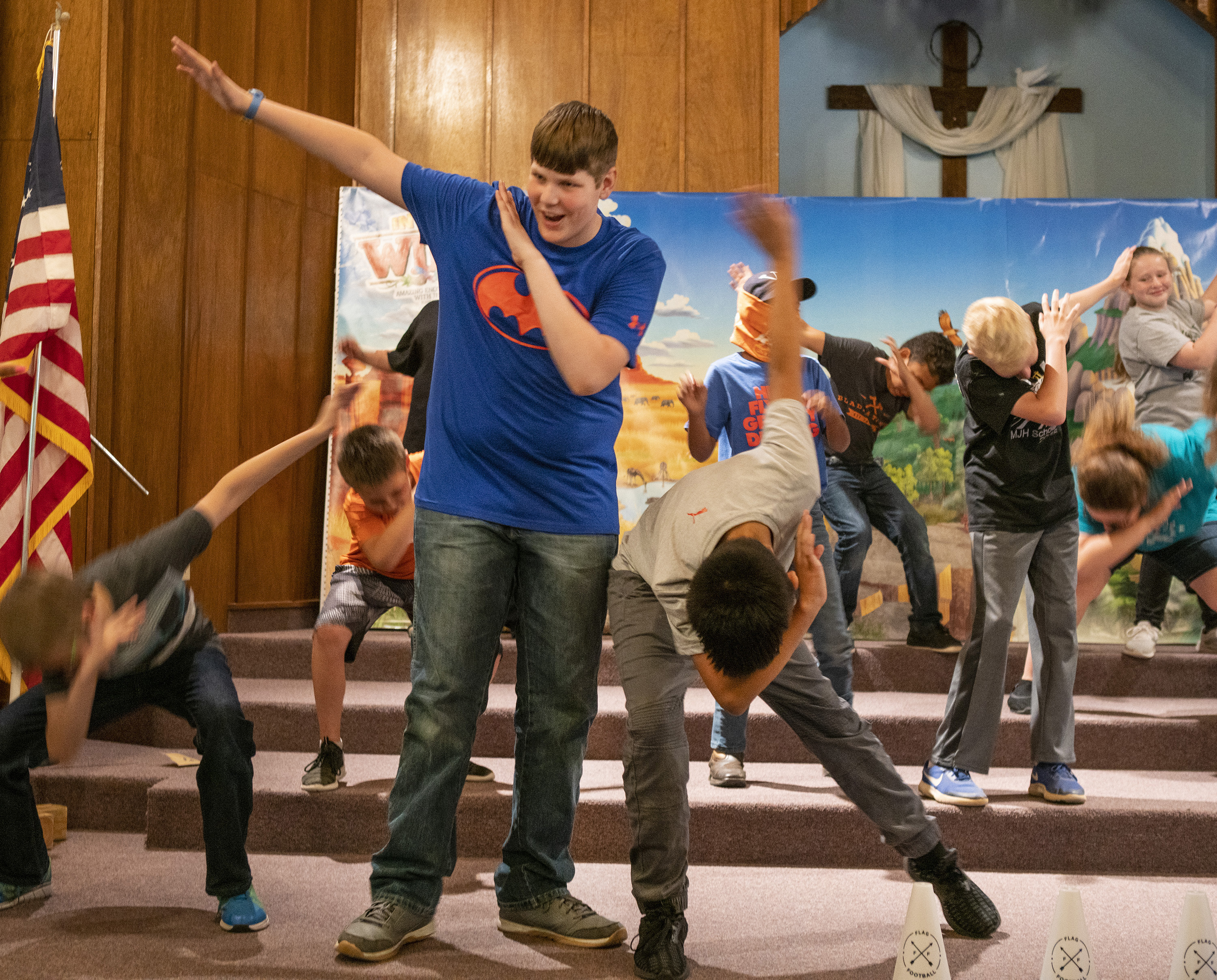 FBC, Satanta, Kan., uses VBS to reach junior high students