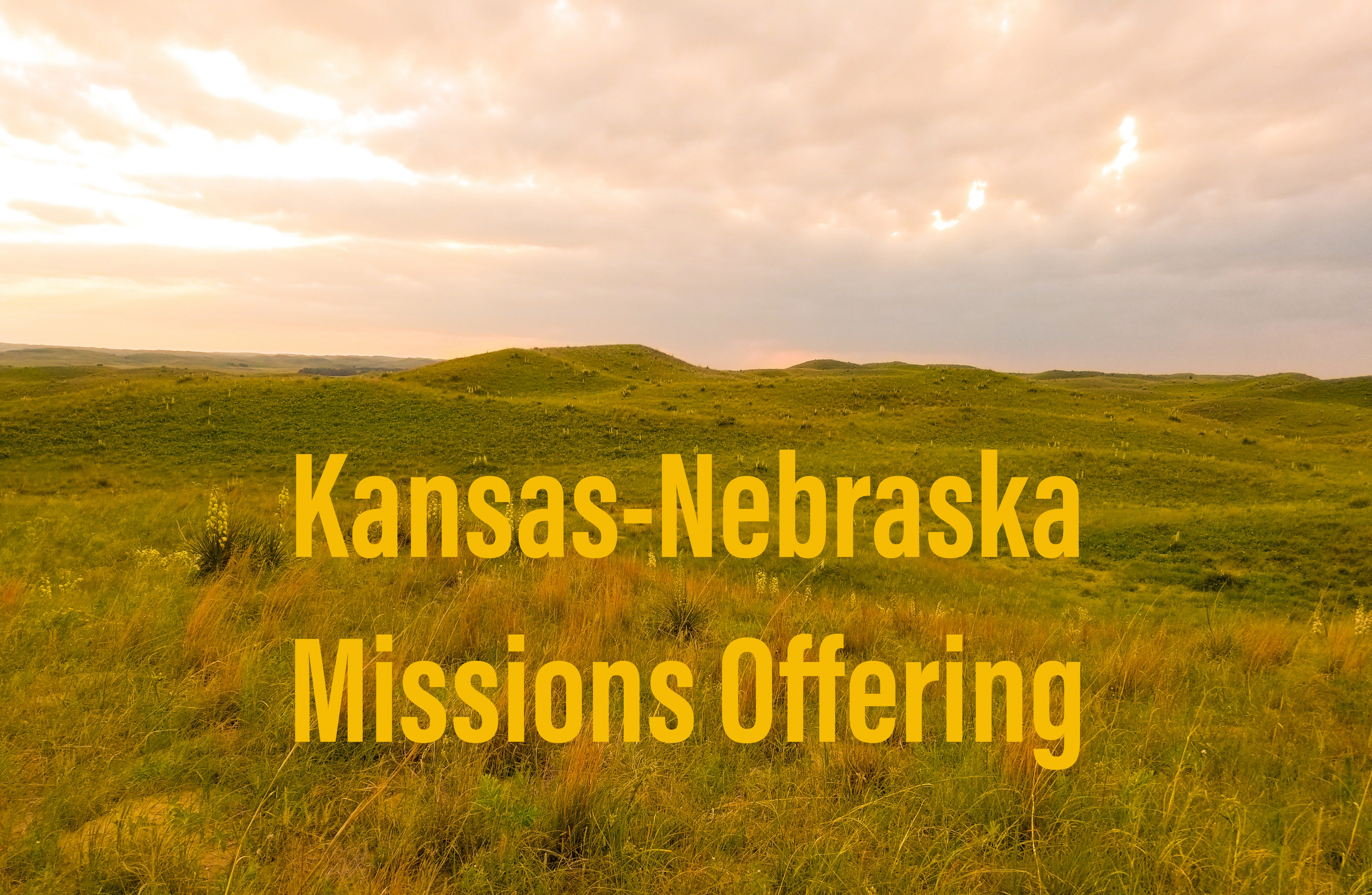 Annual missions offering benefits KNCSB and associations