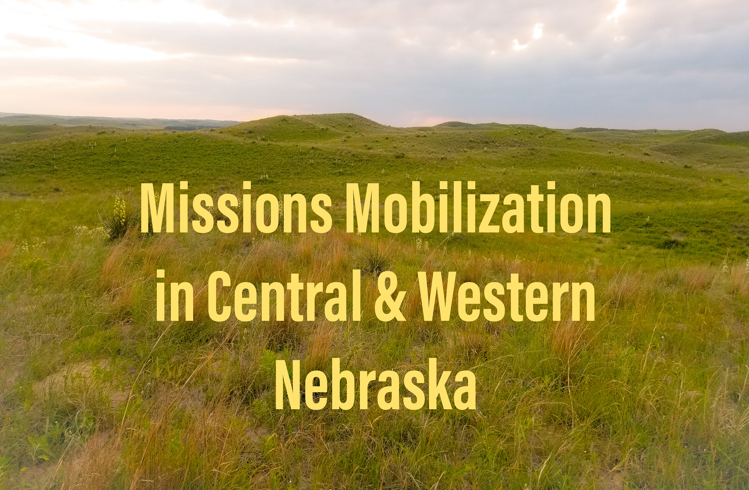 Churches and individuals are needed to help in Nebraska