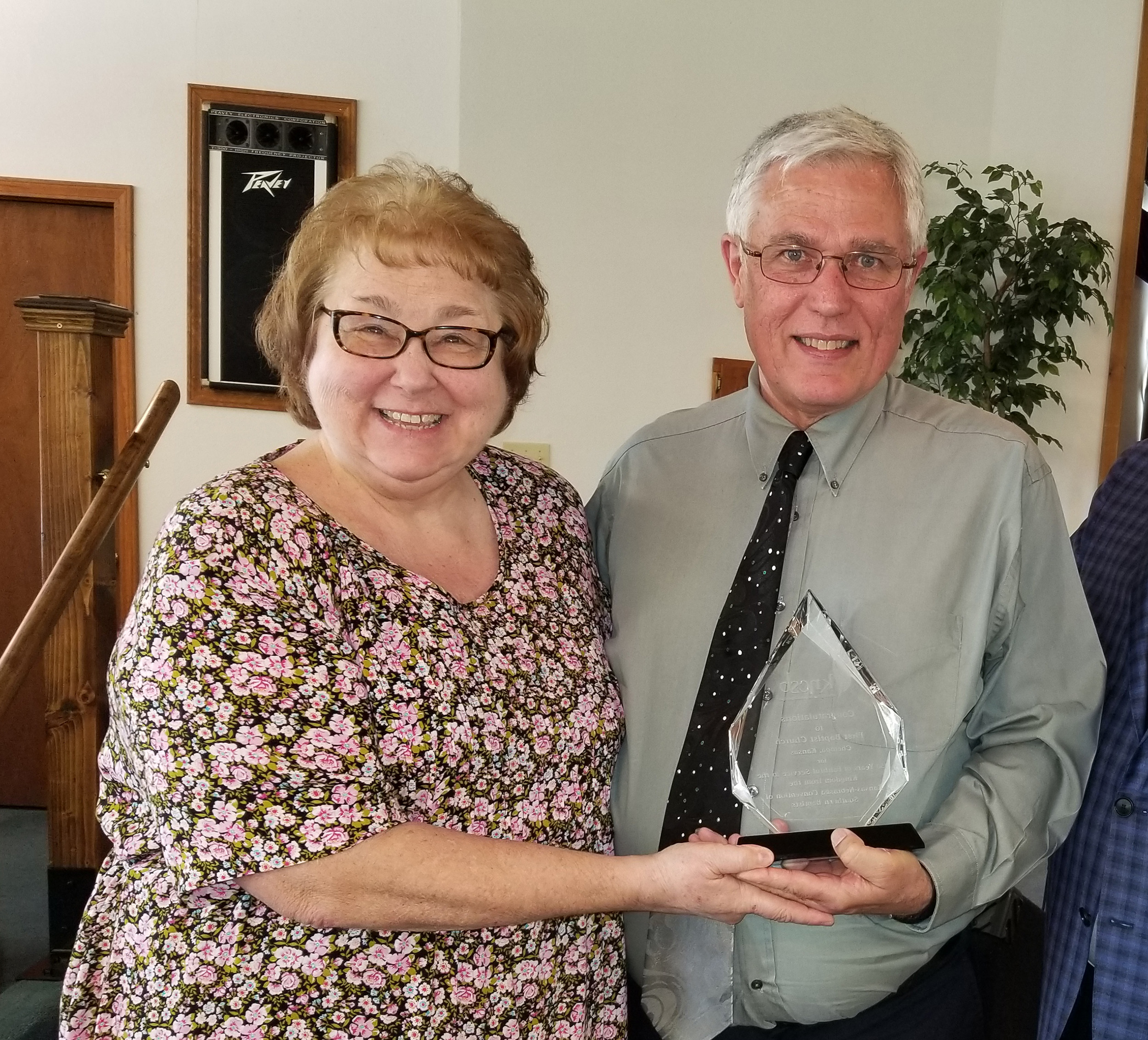Newmans celebrate 20 years at FBC, Chetopa, Kan.