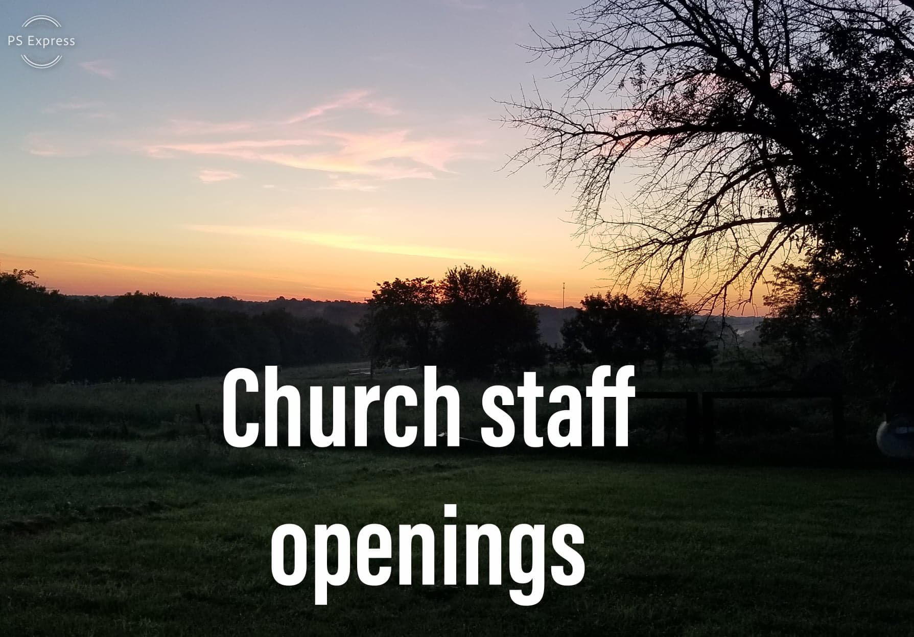 Church staff openings