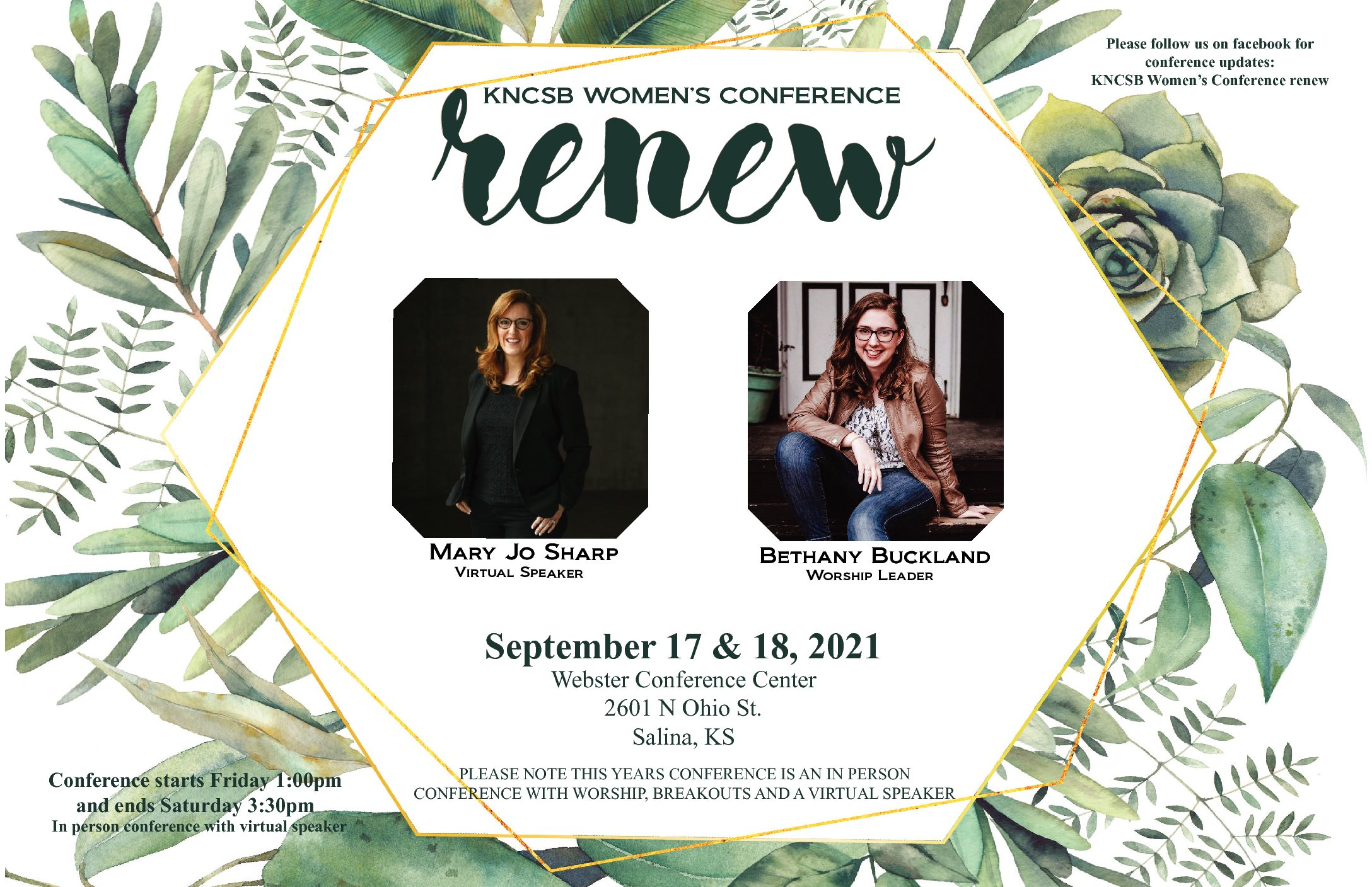 Plan now to attend annual women's retreat